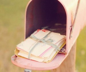Letter and nice image