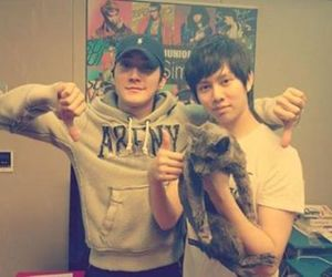 heechul, siwon, and super junior image