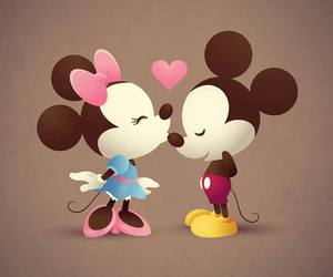 cute and miney and mickey image