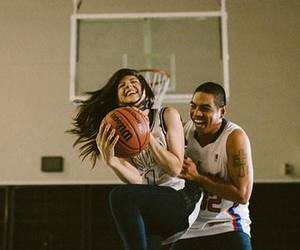 Basketball, happy, and smile image