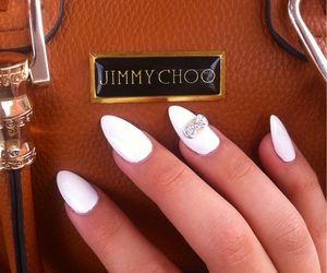 nails, Jimmy Choo, and bag image