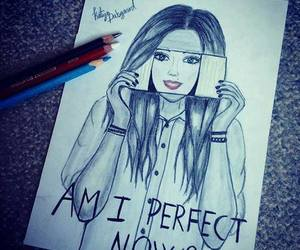 perfect, barbie, and drawing image