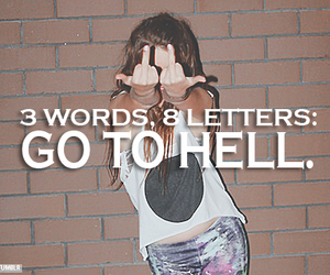 3, hell, and go to hell image