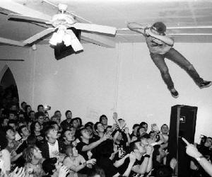 concert, crazy, and fly image