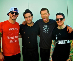 fall out boy, pete wentz, and andy hurley image
