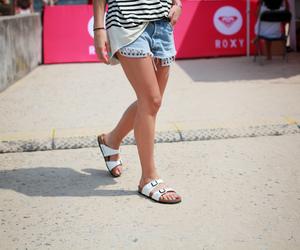 beach, fashion, and holiday image