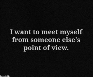 myself, quote, and meet image