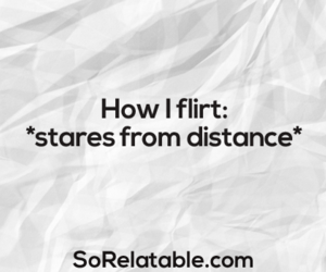 flirt, funny, and quote image