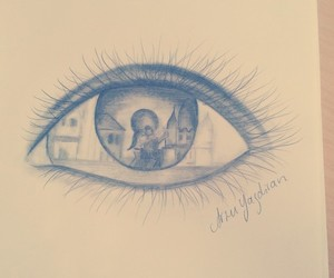 auge, draw, and drawing image