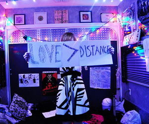 love, distance, and light image