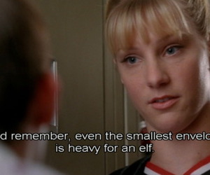 glee, heather morris, and brittany pierce image
