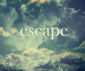 escape, sky, and clouds image