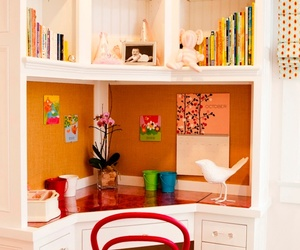 room, home, and books image