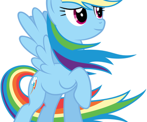 rainbow dash, my little pony, and rainbow image