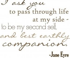jane eyre, quotes, and love image