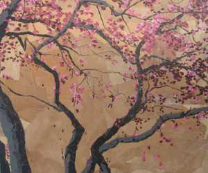 art, japan, and painting image