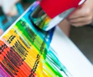colorful, cool, and crayon art image