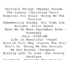 black and white, playlist, and sad songs image