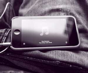 the strokes, music, and ipod image