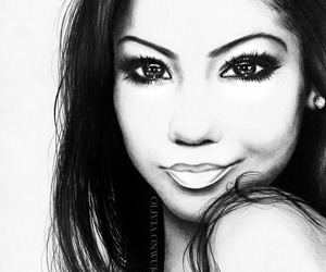 art, jhene aiko, and drawing image