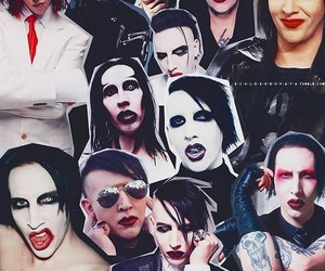 Collage and Marilyn Manson image