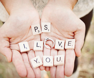 I Love You, propose, and word image