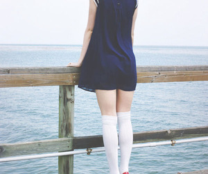 blue, girl, and sailor image