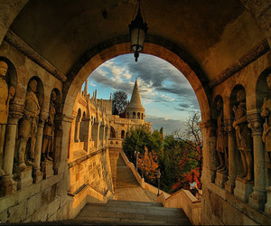 budapest, hungary, and castle image