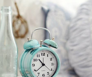 alarm clock, room, and time image