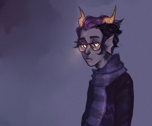 homestuck and eridan ampora image