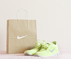 nike, green, and workout image