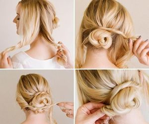 hair tutorial and hair do image