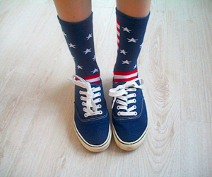 america, shoes, and sneakers image