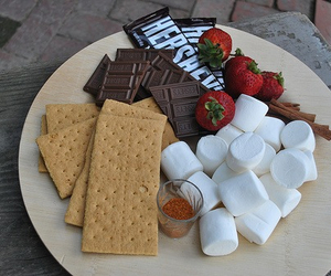 candy, marshmallow, and chocolate image