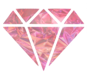 diamond, galaxy, and pink image