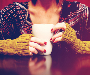 coffee, nails, and tones image