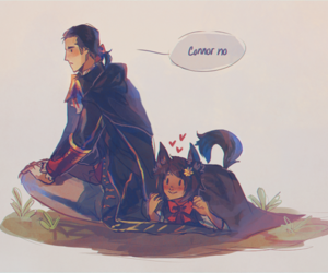chibi, Connor, and ac image