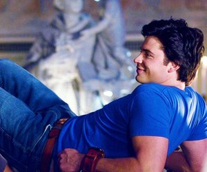 superman, tom welling, and smallville image