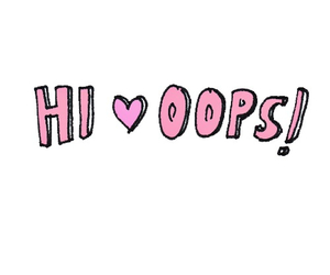 hi, oops, and larry image