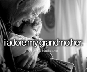 love and grandmother image
