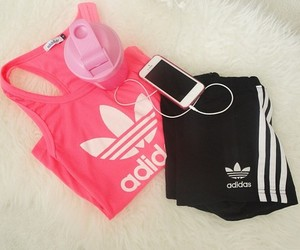 adidas, iphone, and sport image