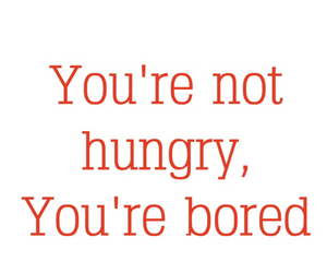 bored, funny, and hungry image