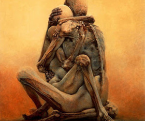art, beautiful, and Zdzislaw Beksinski image
