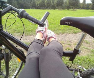 bike, day, and chill image
