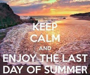 summer, enjoy, and keep calm image
