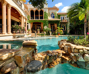 dream house, house, and place image