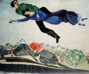 art, marc chagall, and painting image