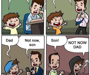 son, dad, and quotes image