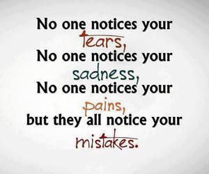 mistakes, tears, and sadness image