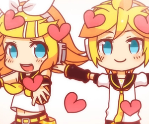 vocaloid, kagamine, and electric angel image